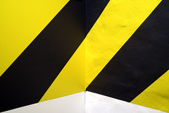 Corner (YIP2) Tags: pattern letter design interior interiordesign detail abstract minimal minimalism black yellow