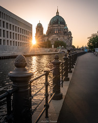 Berliner Dom (laurilehtophotography) Tags: europe city berlin berliner dom pathway urban sunset river architechture buildings summer evening nikon d750 tamron 2470mm sunstar park travelphotography traver vacation holiday
