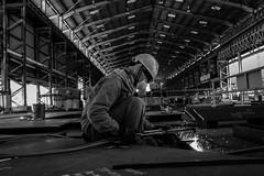Steel Work (sabirin noor) Tags: x100t bwfineartphotography bwstreet