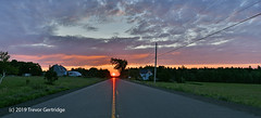 Country roads (Trevdog67) Tags: country farm barn farmhouse field road countryroad sky dawn sunrise earlymorning perspective clouds moncton newbrunswick canada nature landscape nikon d7500 sigma
