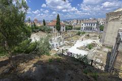 Roman forum (Dr_Babis) Tags: nikon d610 fx 16mm nikon1635mmf4vr wide attiki athens greece hellas ancient marbles plaka monastiraki