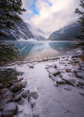 Lake Louise (Toni_pb) Tags: canadianrockies canada rockies rocosas lakelouise alberta reflection landscape water waterscape wild sony sony1635f28gm alpha ilce7rm3 ilce7riii