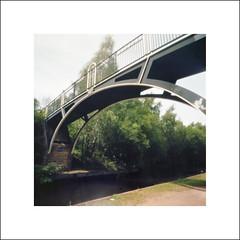 Canal Bridge (oldeyes47) Tags: pinholecamera zeroimage kodak ektar100 filmphotography sheffieldcanal southyorkshire withoutalens pinholephotography lenslessphotography bellini c41 mediumformat