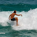 Fall of the athlete from the surf on the wave. Nai Harn beach, Phuket, Thailand    XOKA5769b3s