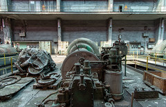 Abandoned Power Plant (scrappy nw) Tags: abandonedpowerplant abandoned scrappynw scrappy derelict decay canon canon750d rotten rusting urbex ue urbanexploration urbanexploring interesting industrial industry italy powerstation turbine turbines decayed power poimbino italian