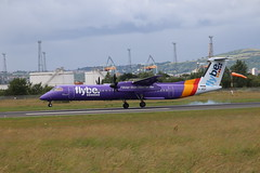 Flybe G-JEDT BHD 18/07/19 (ethana23) Tags: planes planespotting aviation avgeek aeroplane aircraft airplane flybe bombardier dehavilland dehavillandcanada dash8 q400