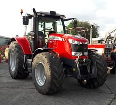 Massey Fergusson 7618 (michaelausdetmold) Tags: massey ferguson mf tractor traktor trecker schlepper landmaschine fahrzeug