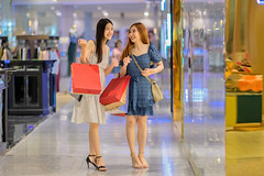 DAN_6998 (Mangpink) Tags: friends woman look smiling fashion shop retail shirt female mall shopping asian person stand store discount asia dress adult market sale lifestyle happiness clothes indoors jacket attractive customer service casual positive choice satisfaction cheerful luxury purchase pleasure hanger consumer shoppingbag choosing smelling shoppingbags