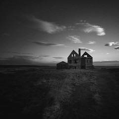 Ghost house (frodi brinks photography) Tags: house blackandwhite frodibrinks iceland ghosthouse
