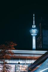 Kuala Lumpur at night (HF_Yap) Tags: kualalumpur kl malaysia tower communications long exposure longexposure night nightphotography train light lights architecture