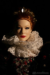 elizabeth I (photos4dreams) Tags: cateblanchett photos4dreams p4d photos4dreamz toy puppe movie film tremaine faceup makeup dollmakeupartist dress mattel barbies girl play fashion fashionistas outfit kleider mode puppenstube tabletopphotography ooak custom einzigartig oneofakind handpainted upgrade dolldesigner design repaint rembrandtish rembrandt diy hrmqueenelisabethi