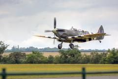 Supermarine Spitfire Mk IX (marktandy) Tags: fighter trainer aircraft landing duxford flyinglegends july 2019 summer runway wwii usaaf 1944 supermarine spitfire