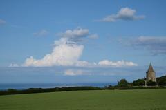 Land sea sky (spencerdavid25) Tags: field land sea sky lythe whitby clouds
