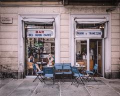 Del Buon Caffe (Andrew G Robertson) Tags: torino turin street photography italy cafe coffee del buon caffe