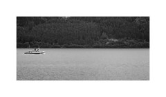 Chugging about the Loch ! (CJS*64) Tags: scotland cjs64 craigsunter cjs blackwhite bw blackandwhite whiteblack whiteandblack mono monochrome lochness boat scenery tourists cruiseship cruise lochnesscruise passingby nikon d7000 nikkor nikond7000