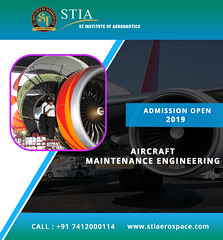 Top Aircraft Maintenance Engineering College in India (St Institute Of Aernuatics) Tags: aircraft airworthy airlines airport aeronautics aviation