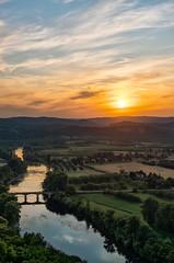 La Dordogne (Nicolas Pluquet) Tags: domme dordogne paysage sunset couché soleil sony ilce7m2 a7ii france 2470 zeiss