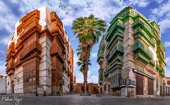 Jeddah Downtown (MNmagic) Tags: ksa jeddah saudiarabia sony urban old city travel trip street