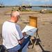 De kunstenaar aan het werk - au plein air