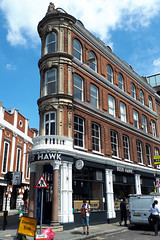 Beer Hawk, London EC1. (piktaker) Tags: london londonec1 ec1 pub inn bar tavern pubsign innsign publichouse beerhawk