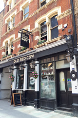 Old Red Cow, London EC1. (piktaker) Tags: london londonec1 ec1 pub inn bar tavern pubsign innsign publichouse oldredcow