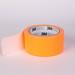 Orange tape isolated on white