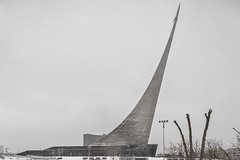 (ilConte) Tags: moscow mosca russia russian monumenttotheconquerorsofspace monument architettura architecture architektur