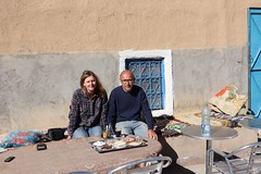 Tea break (leliebloem) Tags: morocco tea break me