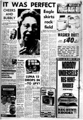 The Melbourne Herald- Monday July 21, 1969- Page 5- Apollo 11 Moon Landing and Walk (Vax80) Tags: apollo 11 moon landing nasa national aeronautics space administration july 1969 melbourne the herald newspaper neil armstrong edwin buzz aldrin michael collins saturn command service lunar module rocket cape canaveral kennedy australia united states america