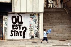 [20 Juillet 2019] – Un jour, une photo : « Où est Steve ? » (alter1fo) Tags: steve fete de la musique 21 juin 2019 loire disparition castaner flics nantes rennes alter1fo mardi noir street artiste
