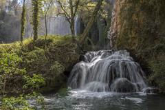 Baño de Diana & Cascada La Caprichosa Waterfalls (elinay76) Tags: bañodediana cascadalacaprichosa waterfall spain aragon monasteriodepiedra parquenaturaldelmonasteriodepiedra nationalpark
