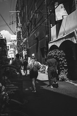 街 (fumi*23) Tags: ilce7rm3 sony street sel35f28z 35mm emount sonnar sonnartfe35mmf28za a7r3 alley bw blackandwhite monochrome osaka kyobashi 大阪 京橋 ソニー モノクロ
