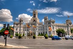 Cibeles Palace - Madrid - Spain ( Gabriel Franceschi®) Tags: gabriel franceschi nikon d300s sigma 1750mm f28 hsm spain madrid high dynamic range hdr cibele palacio