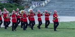 P7182411 (Copy) (pandjt) Tags: tattoo army uniform military parade retreat brass parliamenthill fortissimo militaryband canadianarmy ceremonialuniform bandoftheroyalhamiltonlightinfantry fortissimo2019
