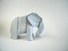 Elephant - Jens Kober (Rui.Roda) Tags: origami papiroflexia papierfalten elefante elephant jens kober