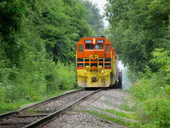 Z151 @ Sparta (PPWIII) Tags: sparta z151 trains railroad gw marquette rail co grand trunk junction pm pere