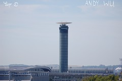CDG T2 (Starkillerspotter) Tags: terminal 2 south tower air traffic sky