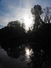 Clic clac cheers ! (Faapuroa) Tags: contrejour lumière backlight vespéral sunset evening soir coucher soleil light reflet reflection landscape rivière river coolpix b700 nikon