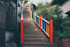 彩虹階梯 (aelx911) Tags: a7m2 a7ii a7 sony carlzeiss fe35mm fe35mmf14 fe35f14 landscape cityscape city urban taiwan newtaipeicity 台灣 新北市 金瓜石