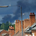 Winson Green fire from the Pershore Road, Stirchley