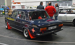 Seat 1430 1600 // PM 1293 D (baffalie) Tags: auto voiture ancienne vintage classic old car coche retro expo espagne sport automobile racing motor show collection club course race circuit spain spanish fiera