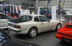 Porsche 944 Turbo (baffalie) Tags: auto voiture ancienne vintage classic old car coche retro expo espagne sport automobile racing motor show collection club course race circuit spain spanish fiera
