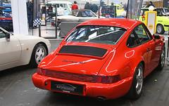 Porsche 911 (964) Carrera RS coupé (baffalie) Tags: auto voiture ancienne vintage classic old car coche retro expo espagne sport automobile racing motor show collection club course race circuit spain spanish fiera