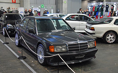 Mercedes Benz 190 E (baffalie) Tags: auto voiture ancienne vintage classic old car coche retro expo espagne sport automobile racing motor show collection club course race circuit spain spanish fiera