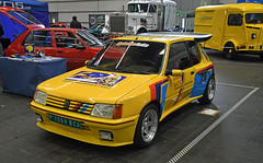 Peugeot 205 GTi // P 1559 BCG (baffalie) Tags: auto voiture ancienne vintage classic old car coche retro expo espagne sport automobile racing motor show collection club course race circuit spain spanish fiera