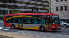 DC Circulator #2126 (NoVa Truck & Transport Photos) Tags: dc circulator wmata passenger bus mass transit 2017 new flyer xd40 2126