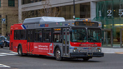 Metrobus #6034 (NoVa Truck & Transport Photos) Tags: metrobus wmata dc mass transit metro 2006 new flyer de40lf 6034 s2 route