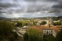 (newsensationspics) Tags: cityscape city architecture urban light buildings street sky clouds raw joaquimleite minho portugal europe guimaraes cidadeberço 450d
