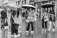 Summer Shopping (EightBitTony) Tags: bag women shoppingbag crowd shopping water city highstreet blackandwhite nottingham raining wet female group raindrops urban canon7d2 rain streetphotography people woman umbrella july boots citycentre 2019 uk nottinghamshire bw blackwhite canon canon7dmarkii canon7dmark2 canon7dmk2 canon7dii canondslr canoneos canoneos7dmarkii canoneos7d2 canoneos7dii mono monochrome england unitedkingdom