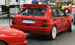 Lancia Delta integrale évo. / (baffalie) Tags: auto voiture ancienne vintage classic old car coche retro expo espagne sport automobile racing motor show collection club course race circuit spain spanish fiera